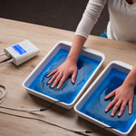 Iontoforese tegen overmatig zweten aan handen, voeten en oksels